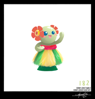 Bellossom!  Pokemon One a Day, Series 2!