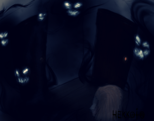 The Nightmares - 'I'm scared of darkness' game by Hekkoto