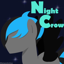 [ Charity COMM.] Night Crow Logo by MimicProductions