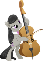 Playing Cello by Tralomine