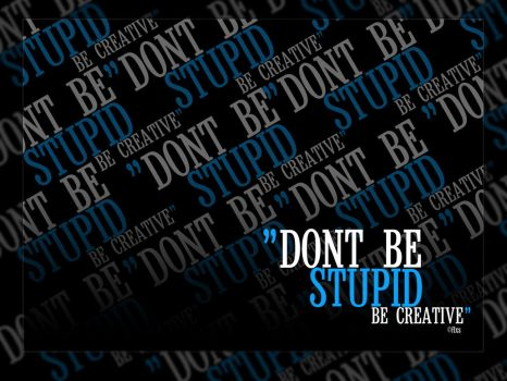 Dont be a stupid blur version by flxs