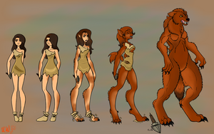 A Natural History of Werewolves by nothere3
