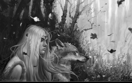 Forest Girl by Azot2017