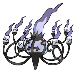 Mega Chandelure by Pgdelirio