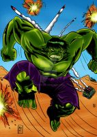 Hulk colored by nic011