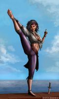 Hip Joint Dislocation? by SirTiefling