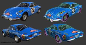 Renault Alpine A110 Rally by STH-pl