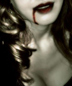 The vampire girl by Lady-Erin