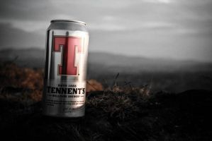 Tennent's at Sunset by doches