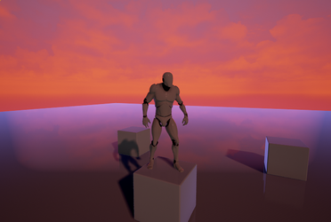 Unreal Sunset (Playing in UE4) by RukarioTrainer