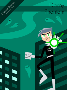 Character Collection #43 - Danny Phantom by AwesomePaper