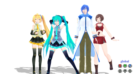 pose your squad 1 ((pose dl))) by ibreatheoxygen12345