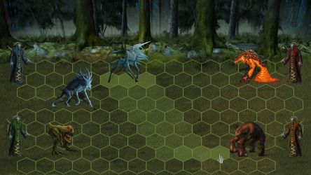 Ancient Beast combat mock-up by DreadKnight666