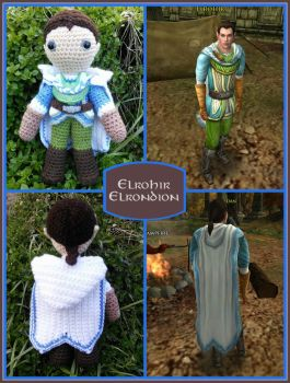 Elrohir - Lord of the Rings Plushies by VelvetKey