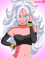 Android 21 by PatrollerWatchXV2