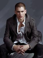 Wentworth Miller by DominiqueWesson