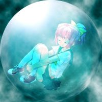 Girl in wather bubble by Michi-sama2030