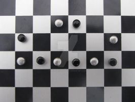 Chessboard Smiley by Maltese-Naturalist