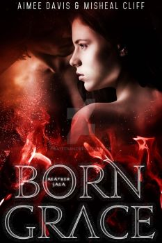 Paranormal Ebook Cover: Born Grace by Dafeenah