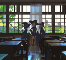 Little Witch Academia by snatti89