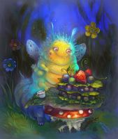 All caterpillars love to eat by morawless