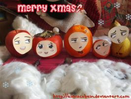 Dir en Fruit-Merry Xmas by AlexisCobain