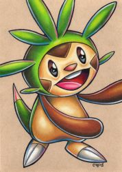 Chespin by bryancollins