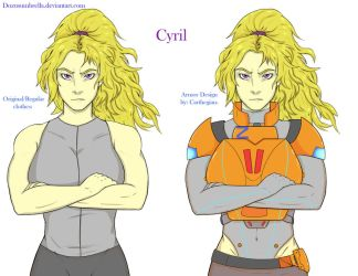 Character Redraw: Cyril by dozusumbrella