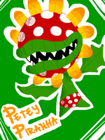 BIG PIRANHA PLANT by Bandium