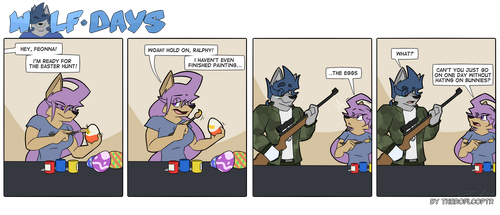 Wolf Days - Easter Hunt by TheRoflCoptR