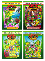 TMNT: TNM Coloring Books by CCB-18