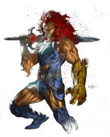 Thundercats's Lion-O - Daniel Chavez by SpiderGuile