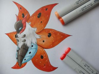 Volcarona by ImmaCatastrophe