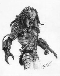 Predator Commission by FREAKCASTLE