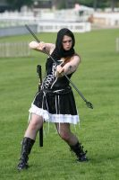 Gothic maiden warrior 53 by Random-Acts-Stock