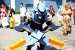 Mecha Kha'Zix Cosplay LoL Gathering AX 2013 by d-slim