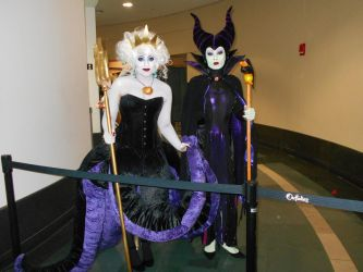 Maleficent and Ursula AB 2018 by Dragonrider1227