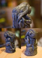 Resin Cthulhu Statue by FoxH