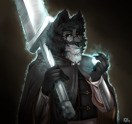 Argus the Wolven by RoughReaill