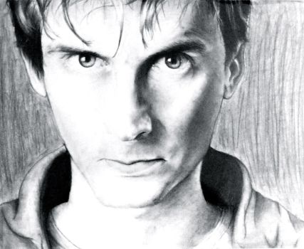 David Tennant by pkmarie