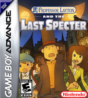 Prof. Layton and the Last Specter GBA Boxart by Dollarluigi
