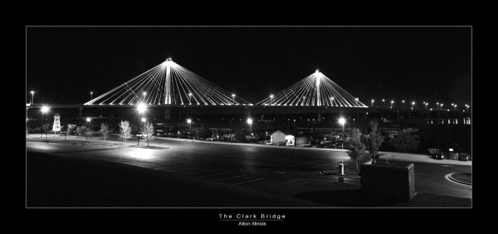 C4D The Clark Bridge by cravingfordesign