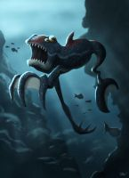 Underwater Creature by LukeGraber