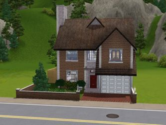 Sims 3 - British House by SimsRepublic
