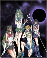 Outer Senshi by Thescarletsail
