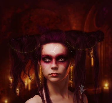 The Rag Witch Runes by AlexandriaDior