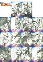 Thor Sketch cards wave one by Jonboy007007
