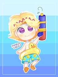 Summer Yoosung by Yumelee