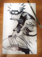 UZUMAKI NARUTO by chrisdangerous