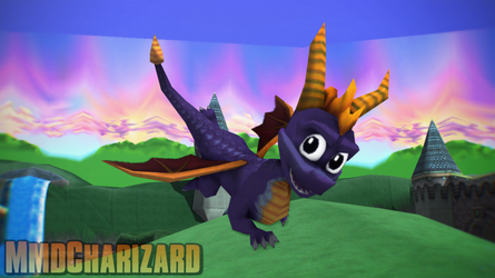 MMD Spyro - Reignited Spyro Classic Edition +DL+ by MMDCharizard